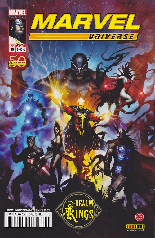 Couverture de Marvel Universe (Panini - 2007) -25- Realm of Kings (1/4)