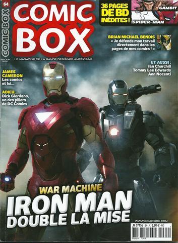 Couverture de Comic Box (1re série) -64- Comic Box 64