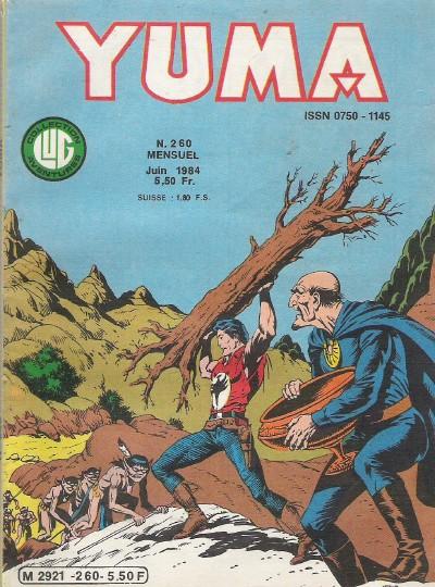 Couverture de Yuma (1re série) -260- Le calice magique !