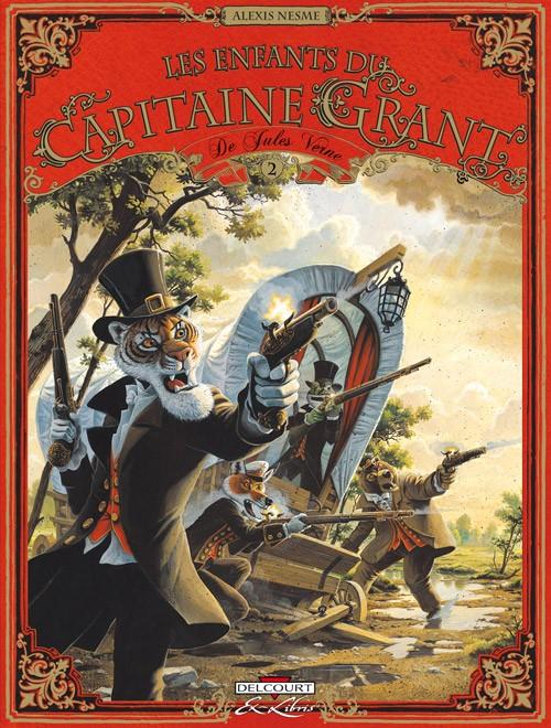 Couverture de Les enfants du Capitaine Grant (Nesme) -2- Tome 2