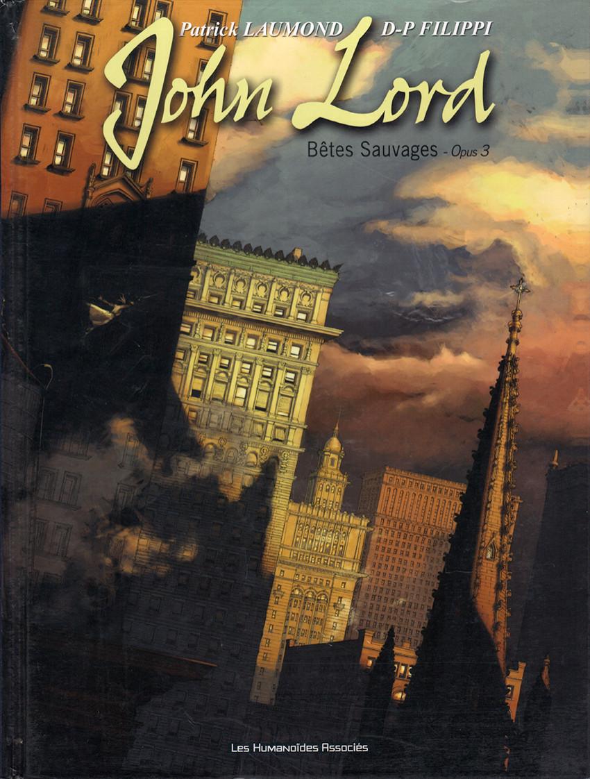 John Lord Intégrale 3 tomes