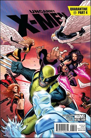 Couverture de Uncanny X-Men (The) (Marvel comics - 1963) -533- Quarantine part 4