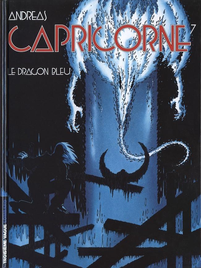 Couverture de Capricorne -7- Le dragon bleu