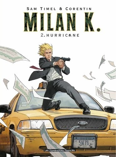 Couverture de Milan K. -2- Hurricane
