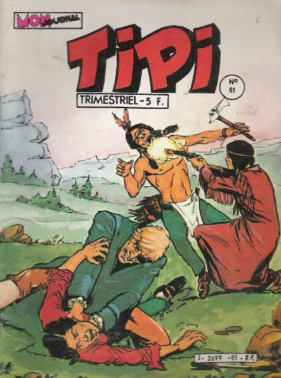 Couverture de Tipi -61- Saddie a disparu