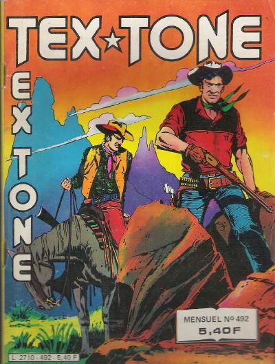 Couverture de Tex-Tone -492- Les enfants du sénateur