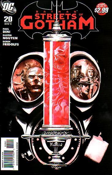 Couverture de Batman: Streets of Gotham (2009) -20- The house of hush part 5 : infestation