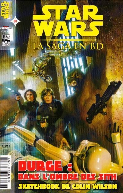 Couverture de Star Wars - BD Magazine / La saga en BD -30- Numéro 30
