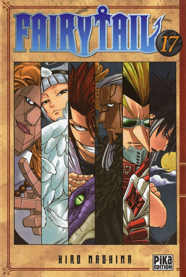 Couverture de Fairy Tail -17- Tome 17