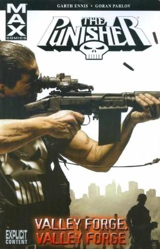 Couverture de Punisher MAX (Marvel comics - 2004) (The) -INT10- Valley forge, Valley forge