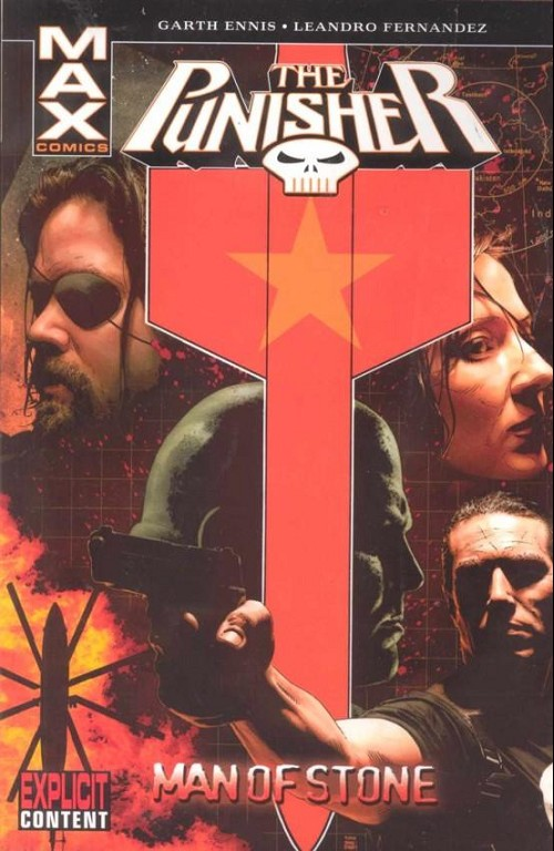 Couverture de Punisher MAX (Marvel comics - 2004) (The) -INT07- Man of stone
