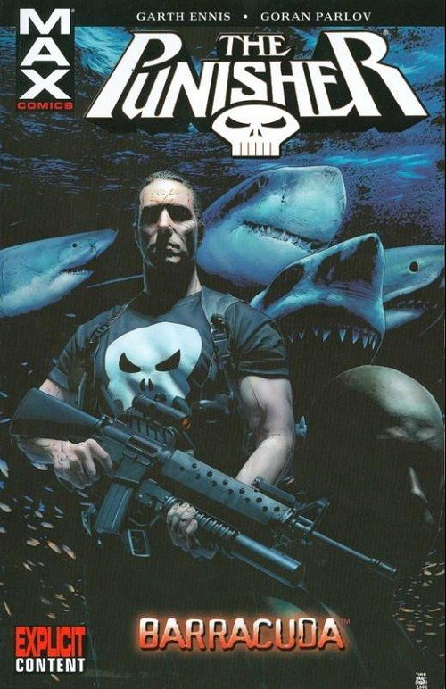 Couverture de Punisher MAX (Marvel comics - 2004) (The) -INT06- Barracuda