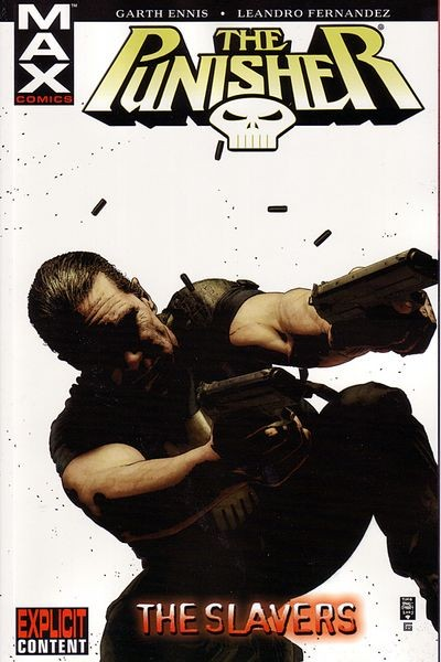 Couverture de Punisher MAX (Marvel comics - 2004) (The) -INT05- The slavers