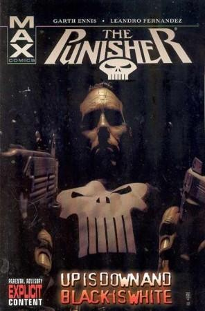 Couverture de Punisher (2004) -INT04- Up is down and black is white