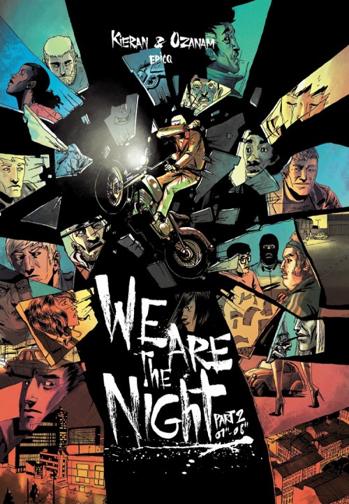 Couverture de We are the night -2- 01h-08h