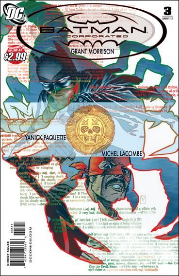 Couverture de Batman Incorporated (2011) -3- Scorpion tango