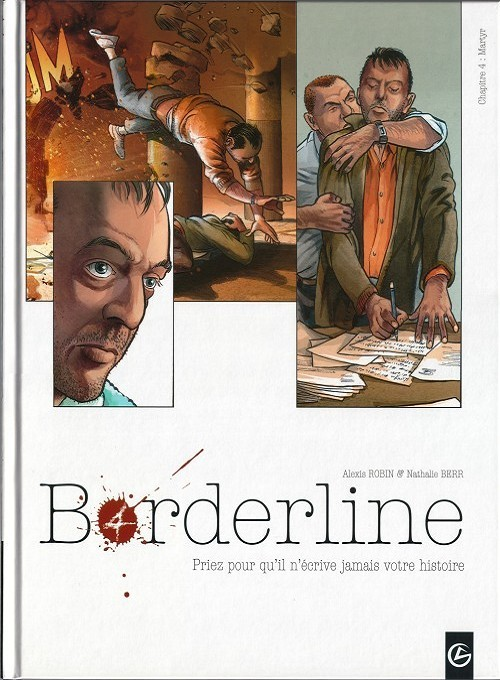 Couverture de Borderline -4- Martyr