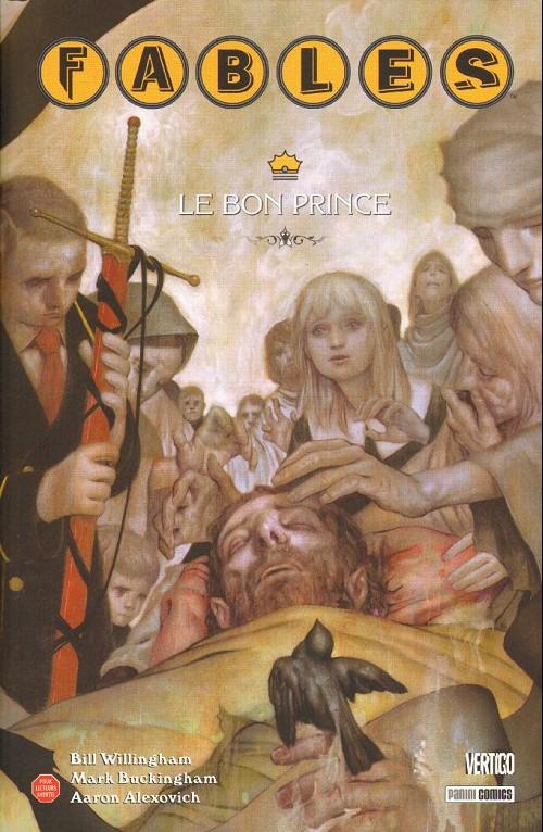 Couverture de Fables (avec couverture souple) -12- Le bon prince