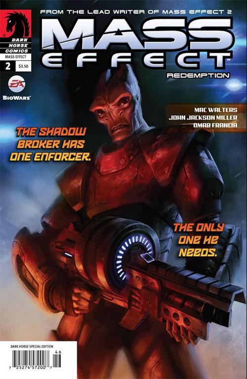 Couverture de Mass Effect: Redemption (2010) -2- Redemption #2