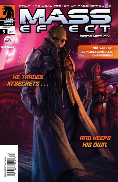 Couverture de Mass Effect: Redemption (2010) -3- Redemption #3
