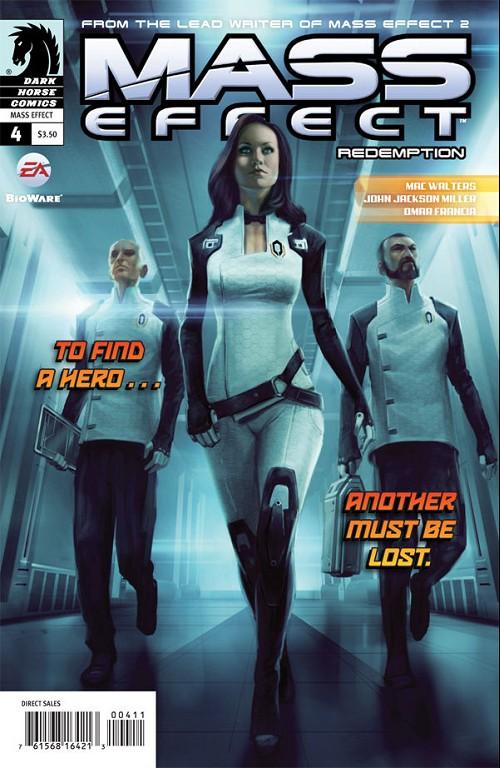 Couverture de Mass Effect: Redemption (2010) -4- Redemption #4