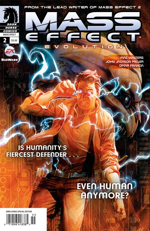 Couverture de Mass Effect - Evolution -2- Evolution #2
