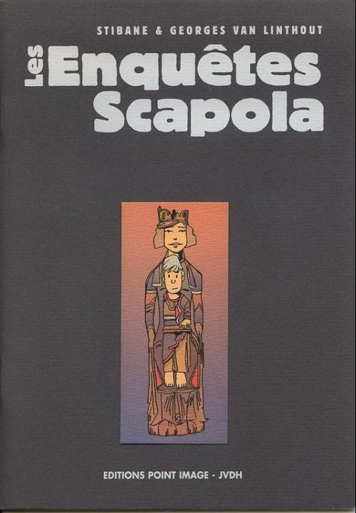 Couverture de Les enquêtes Scapola -HS- Dossiers