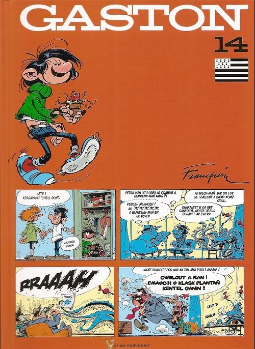 Couverture de Gaston (en langues régionales) -14bzh- Gaston beiadeg 14