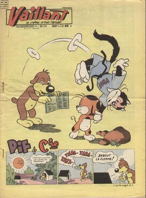 Couverture de Vaillant (le journal le plus captivant) -720- Vaillant