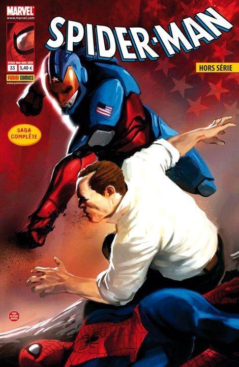 Couverture de Spider-Man Hors Série (Marvel France puis Panini Comics, 1re série) -33- American son