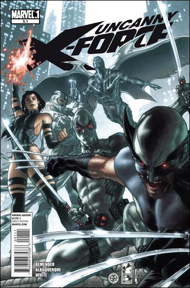 Couverture de Uncanny X-Force (2010) -51- Five point one