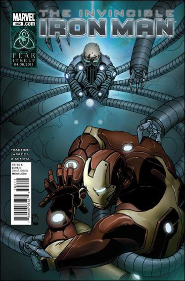 Couverture de Invincible Iron Man (2008) -502- Fix Me, part 2: The God Number