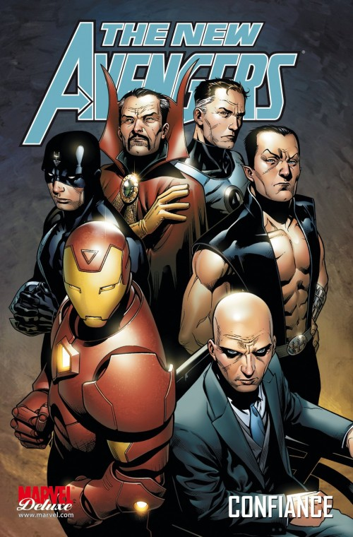 Couverture de New Avengers (The) (Marvel Deluxe - 2007) -4- Confiance
