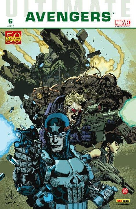 Couverture de Ultimate Avengers -6- Crime et châtiment (3)