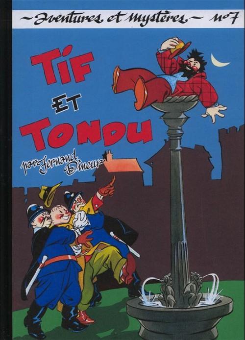 Couverture de Tif et Tondu (Taupinambour) -7- L'idole rouge