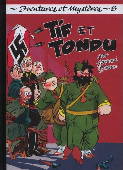 Couverture de Tif et Tondu (Taupinambour) -8- Mission spéciale