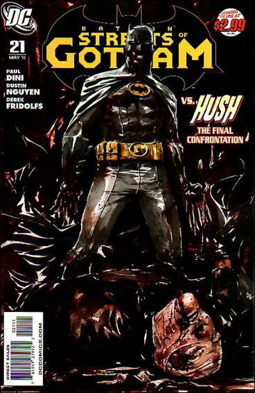 Couverture de Batman: Streets of Gotham (2009) -21- The house of hush finale