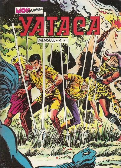 Couverture de Yataca (Fils-du-Soleil) -155- La savane sauvage