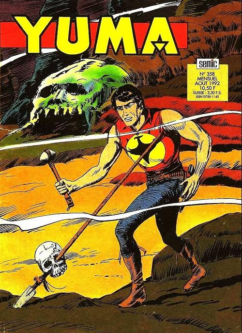 Couverture de Yuma (1re série) -358- La gueule du loup (2)