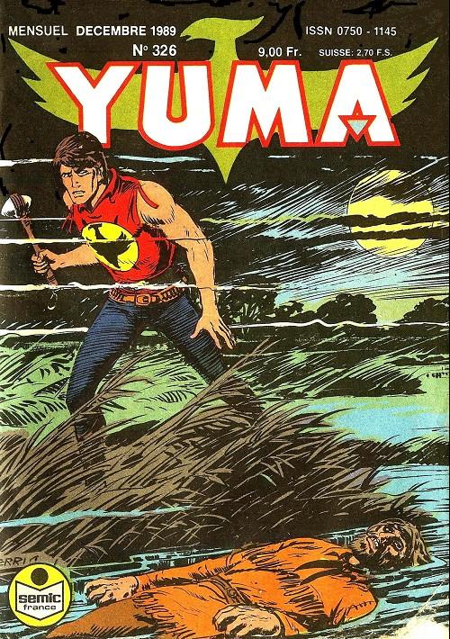 Couverture de Yuma (1re série) -326- Un traître au fort