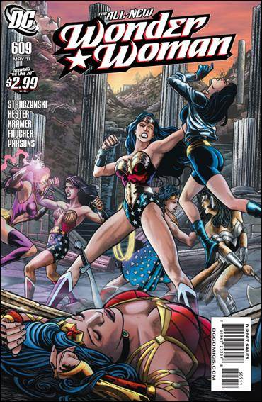 Couverture de Wonder Woman Vol.1 (DC Comics - 1942) -609- Odyssey part 9 : the Wonder Women