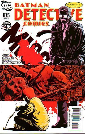 Couverture de Detective Comics (1937) -875- Lost boys
