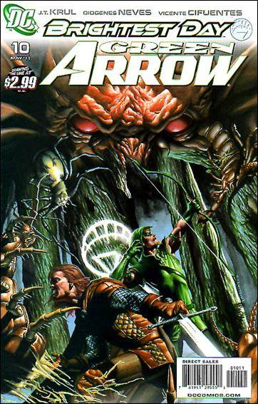 Couverture de Green Arrow (2010) -10- The valley of the shadow of the death