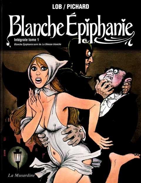 couverture de naissance blanche - Lu Cie