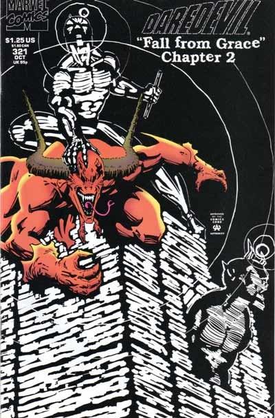 Couverture de Daredevil (1964) -321- Transgression