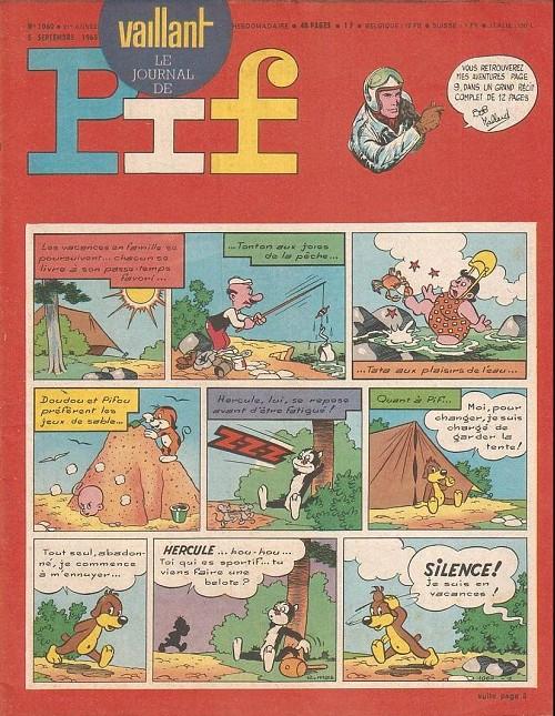 Couverture de Vaillant (le journal le plus captivant) -1060- Vaillant