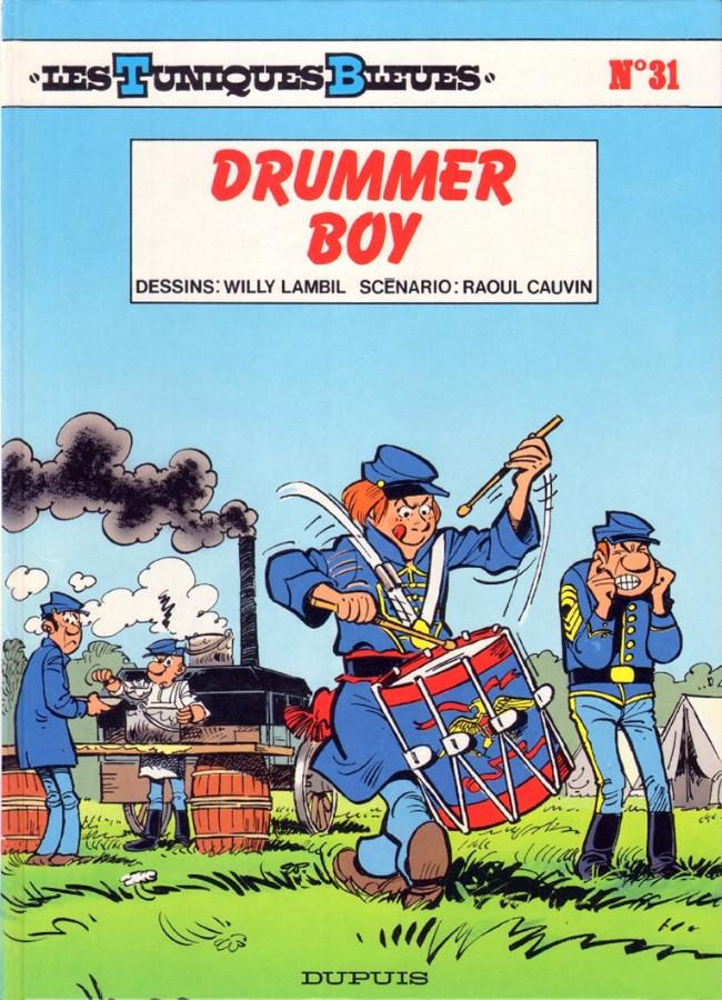 Couverture de Les tuniques Bleues -31- Drummer Boy