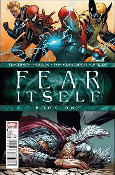 Couverture de Fear Itself (2011) -1- The serpent