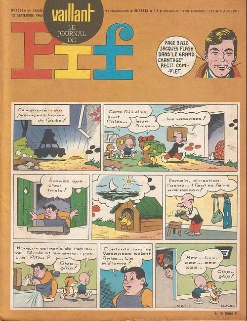 Couverture de Vaillant (le journal le plus captivant) -1061- Vaillant