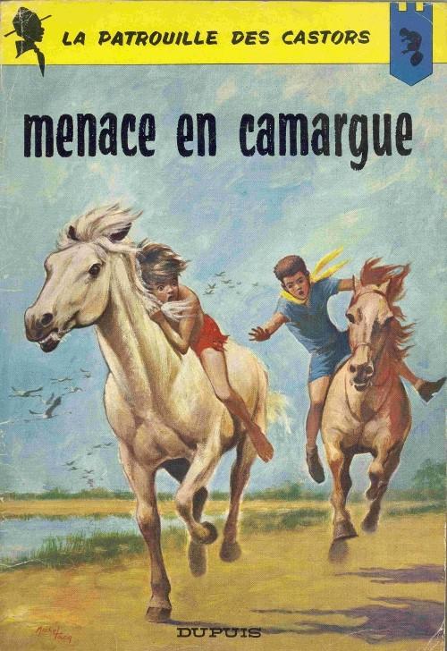 Couverture de La patrouille des Castors -12- Menace en Camargue